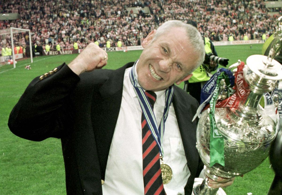 Sunderland/Reid & Trophy