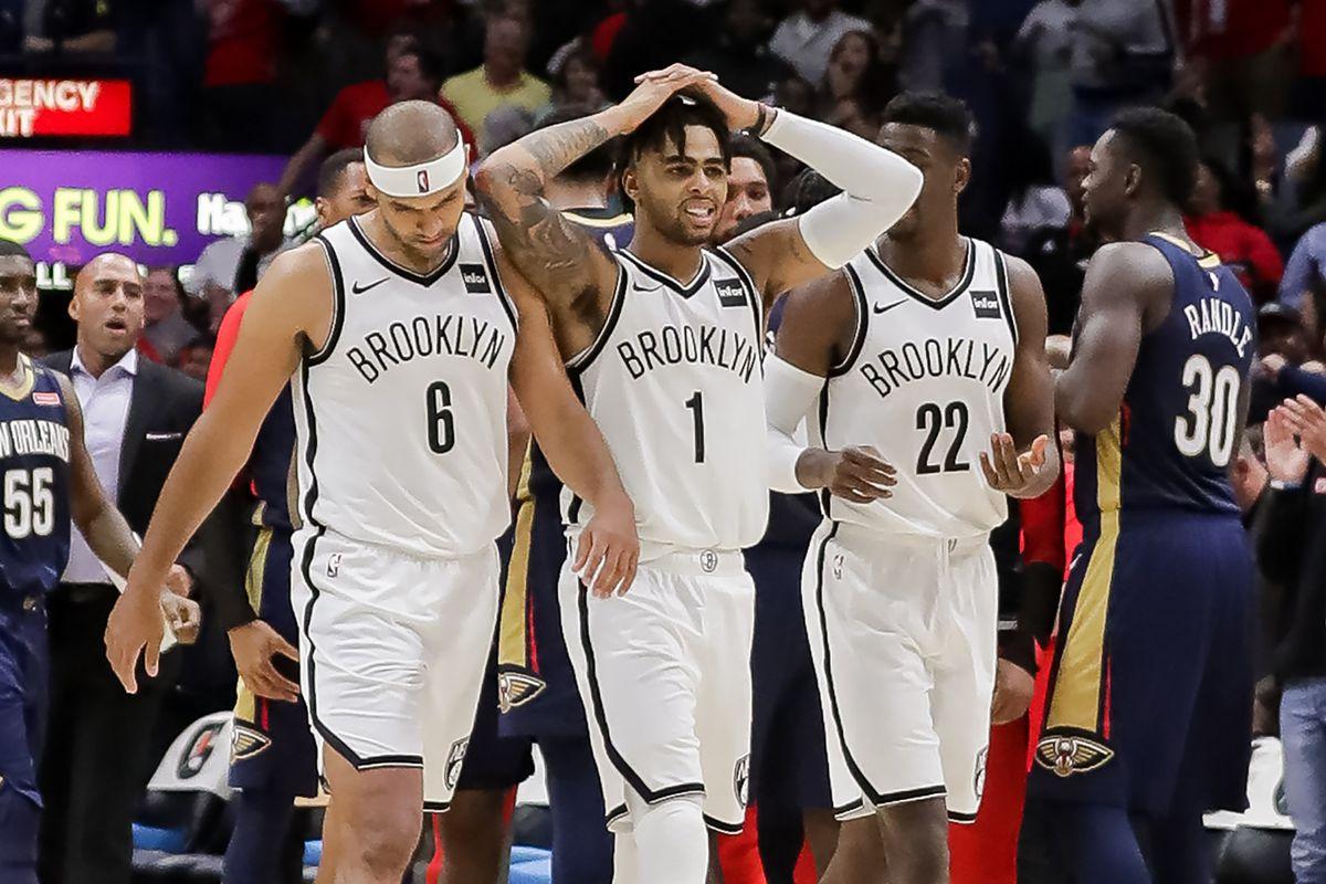 NBA: Brooklyn Nets at New Orleans Pelicans