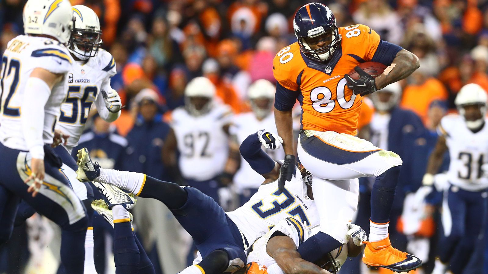 Broncos 24 Chargers 17 Playoff Game Balls Mile High Report