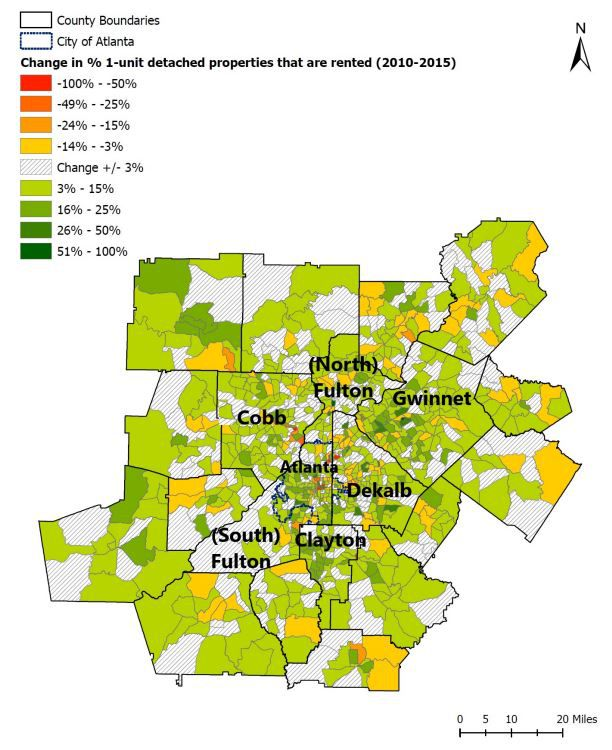 In Atlanta Home Rental Is Up A Staggering 67 Percent