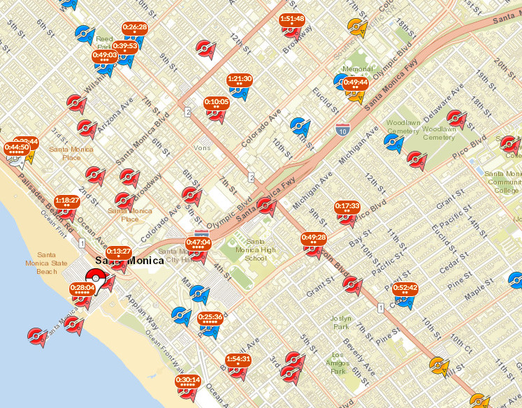 Pokémon Go's most useful map helps you find legendaries - Polygon