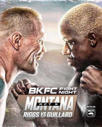 A poster for BKFC's October 9th event.