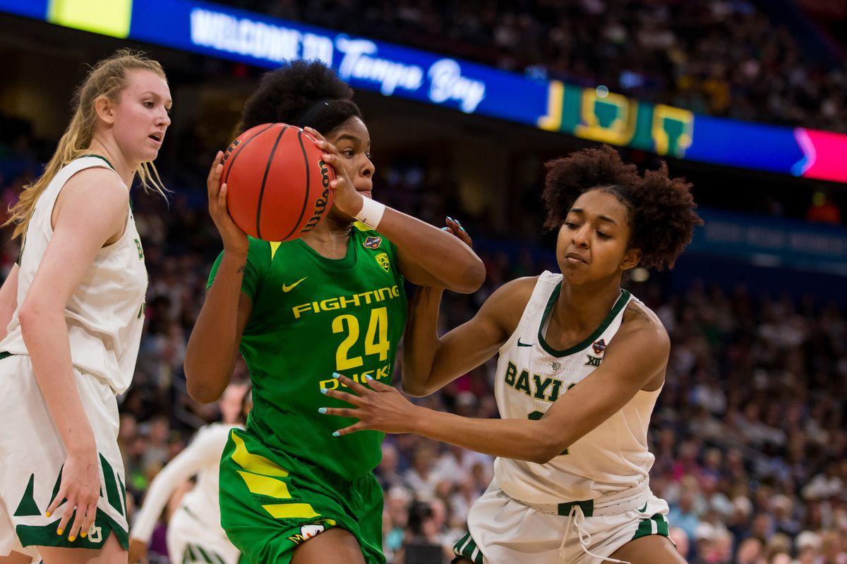 NCAA BASKETBALL: APR 05 Div I Women's Championship - Final Four - Oregon v Baylor
