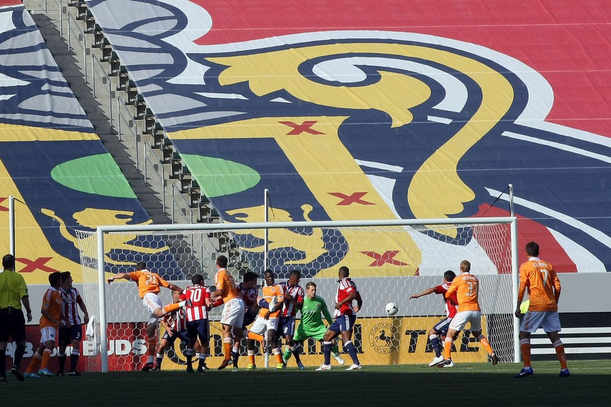 CARSON, CA - MARCH 11: Gordon's signing provides depth on the backline for Chivas (Photo by Victor Decolongon/Getty Images)