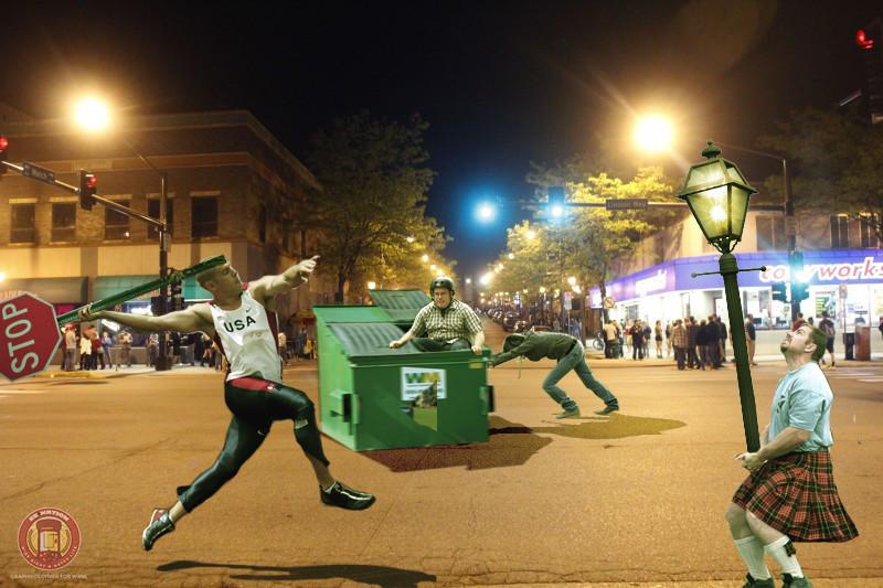 VEISHEA Memorial Riot Decathlon