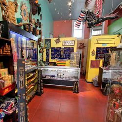 """Your next stop is a few doors down to <a href=""""http://www.mayahollywood.com"""">Maya</a> (4865 Hollywood Blvd), a stellar <a href=""""http://la.racked.com/archives/2013/03/14/shine_on_12_places_to_shop_for_stellar_jewelry_in_la.php"""">jewelry shop</a> filled with"""
