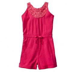 Toddler Gauze Romper in Pink $14.99. Also available in infant sizing