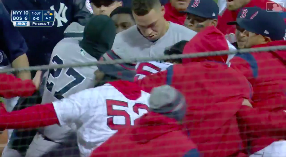 sports shoes 2d1d3 6180f The 7 best moments from the Red Sox and Yankees' bench ...