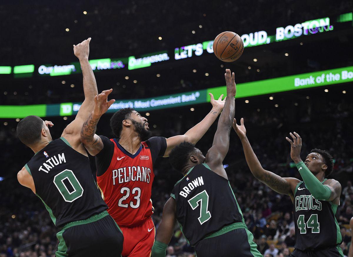 Boston Celtics vs New Orleans Pelicans