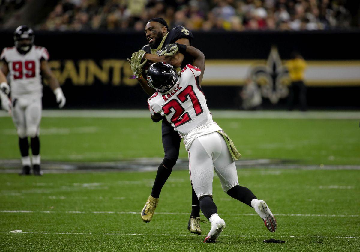 NFL: Atlanta Falcons at New Orleans Saints