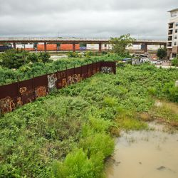 Undeveloped brownfields exist along many segments of the BeltLine.