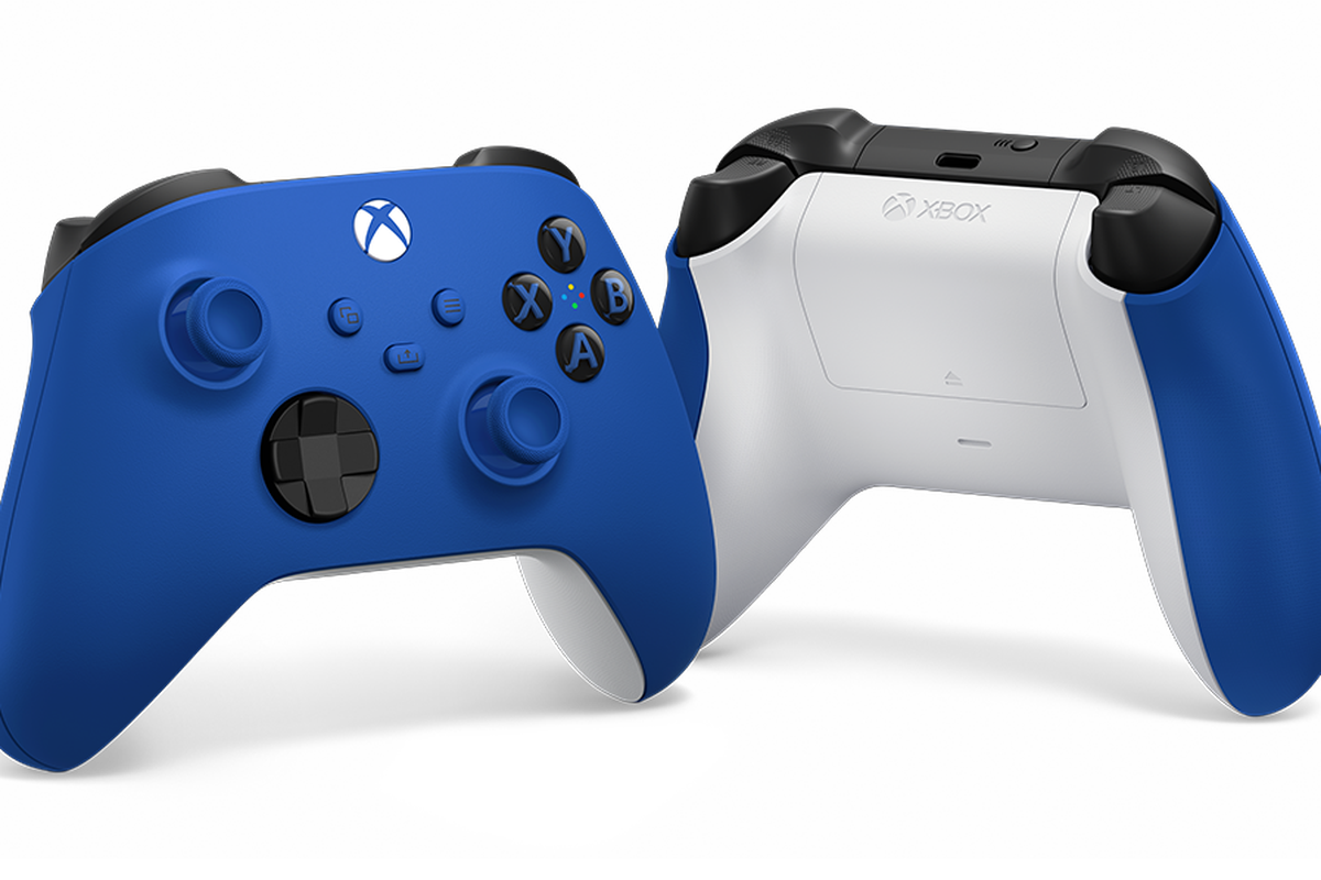 Xbox Series X Shock Blue controller variant
