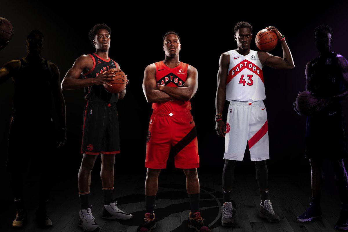 Toronto Raptors unveil three new jerseys for 2021 season