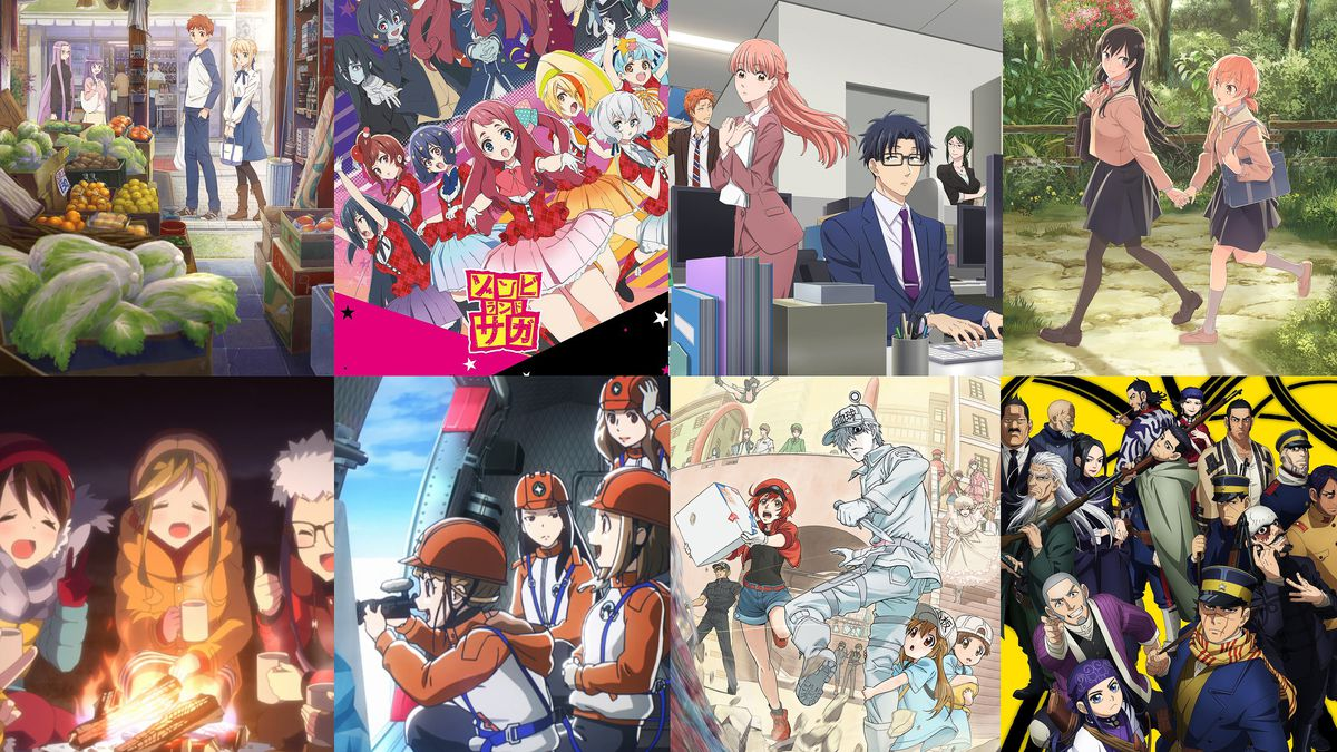 The best anime of 2018 an ongoing list