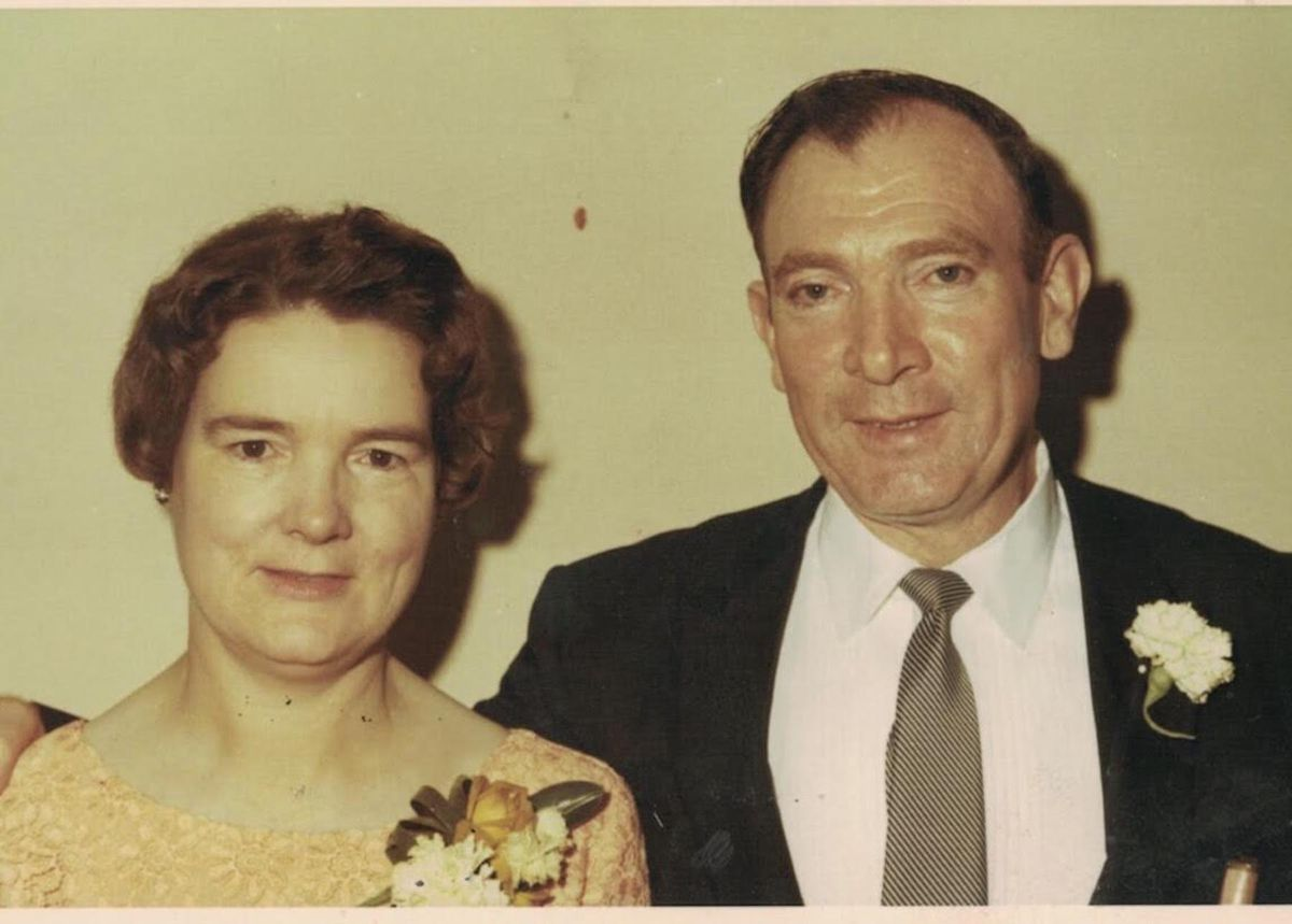 Malachy and Bridget Towey were married in 1947.