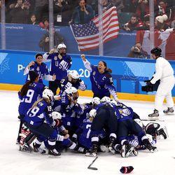 The United States celebrates.