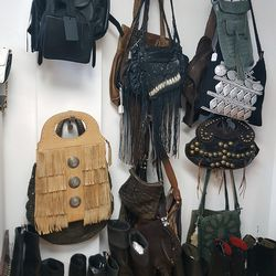 Tons of fest-ready bags and boots here.