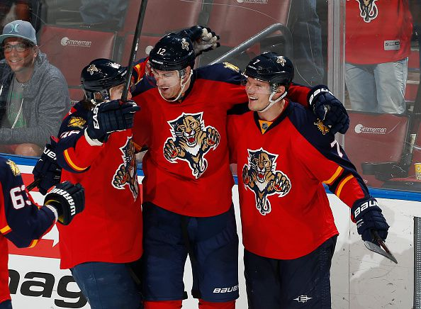 The Florida Panthers are not a hot ticket in South Florida (Courtesy of Joel Auerbach/Getty Images)