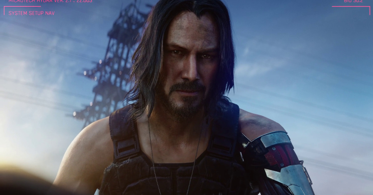 New Cyberpunk 2077 trailer reveals Keanu Reeves, April 2020 release date
