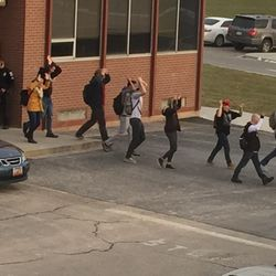 Pleasant Grove High School was put on lockdown Thursday after receiving reports of student with a weapon.