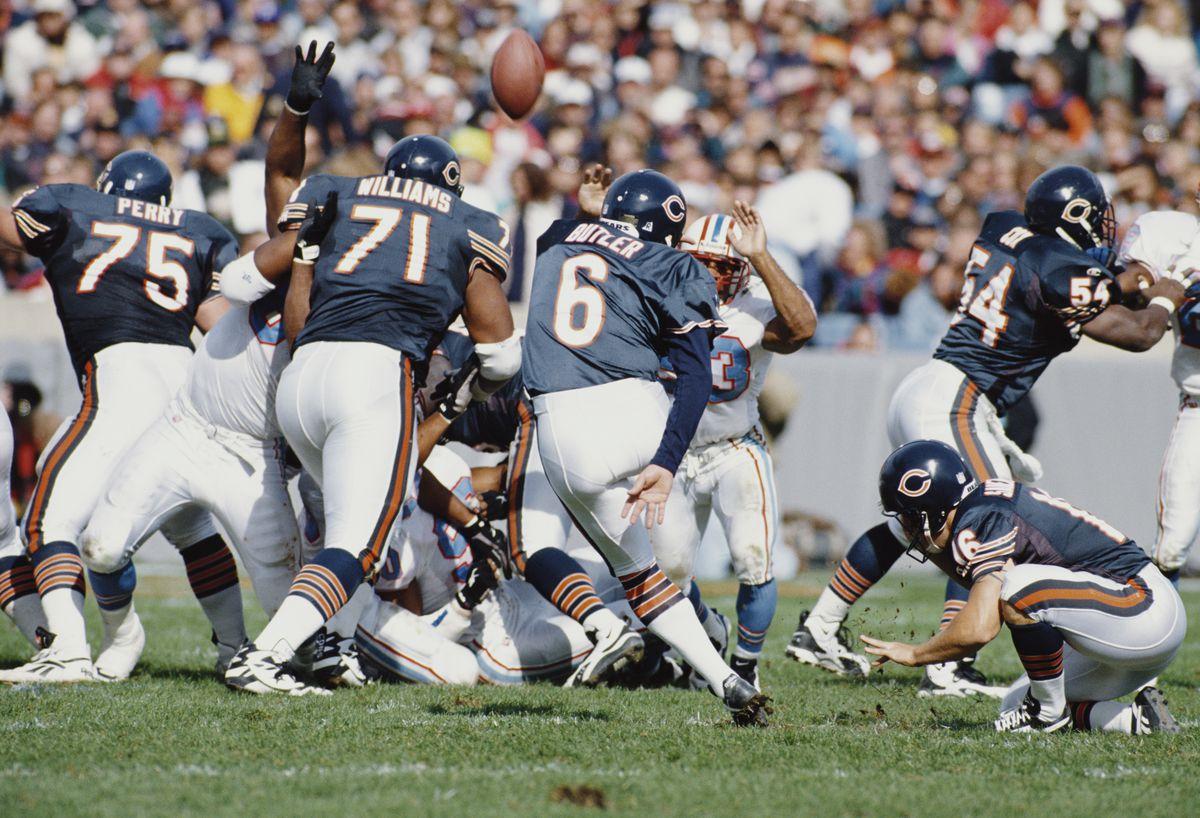 Houston Oilers vs Chicago Bears