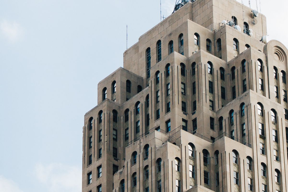 The Caucus Club is located at the base of the Penobscot in downtown Detroit.