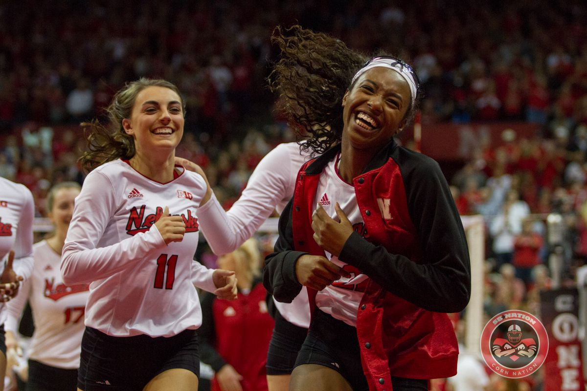 Volleyball: #1 Huskers Sweep Hawkeyes - Corn Nation