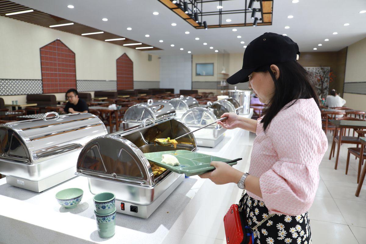 Small Dish In University Restaurant