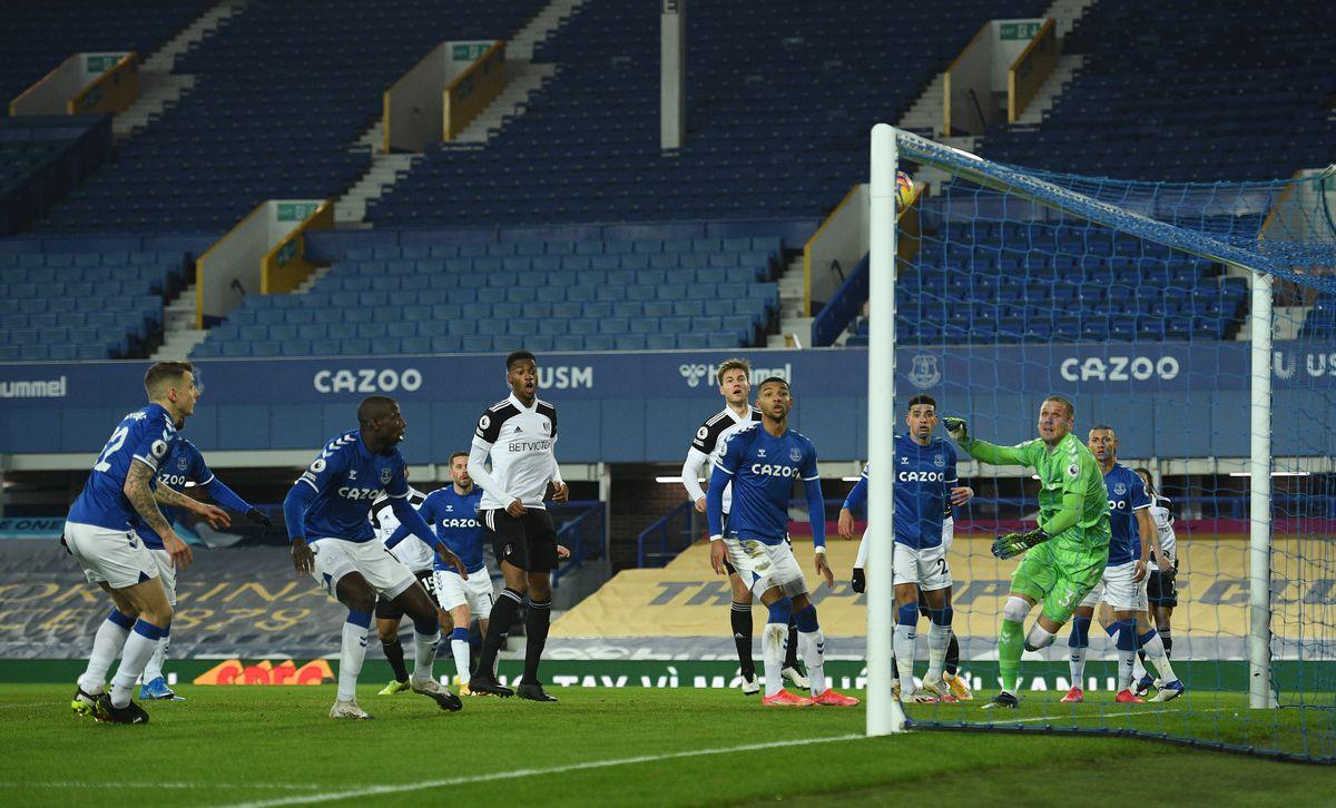 Everton v Fulham - Premier League - Goodison Park