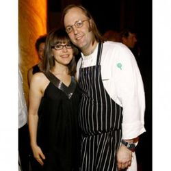 """Wylie Dufresne and Lisa Loeb: Gen X survivors. (<a href=""""http://www.life.com/image/77491149"""" rel=""""nofollow"""">photo</a>)"""