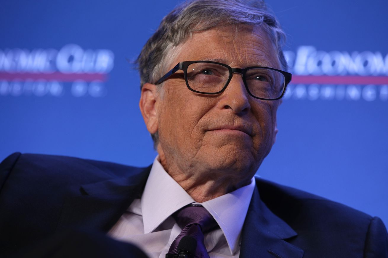 Bill Gates Speaks At The Economic Club Of Washington DC