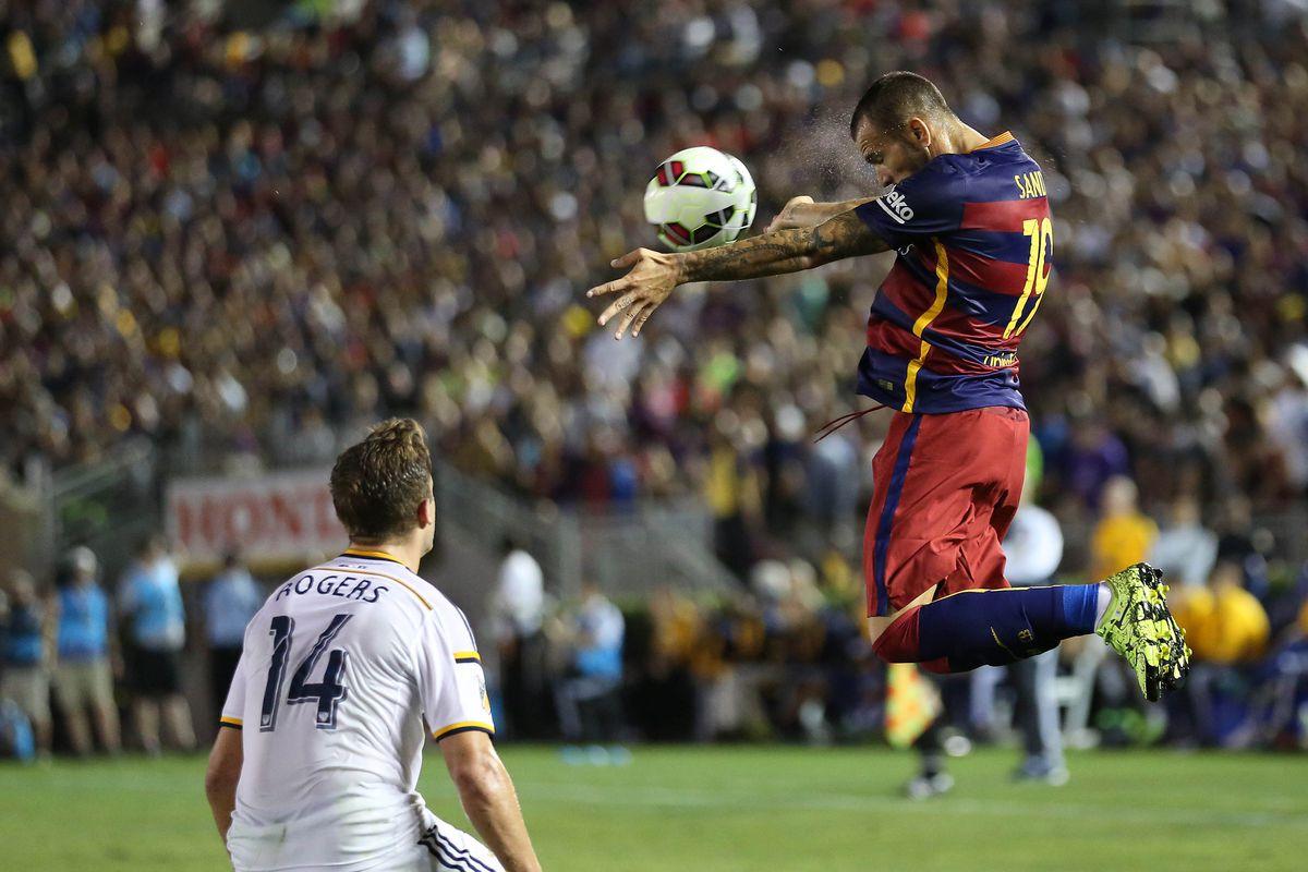 Soccer: Barcelona at LA Galaxy