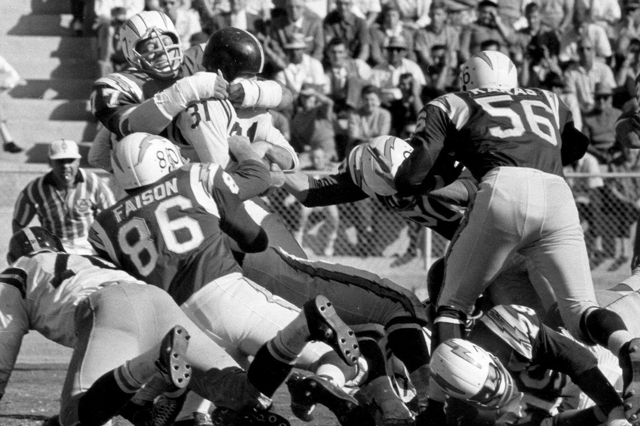 New York Titans vs San Diego Chargers - November 5, 1961
