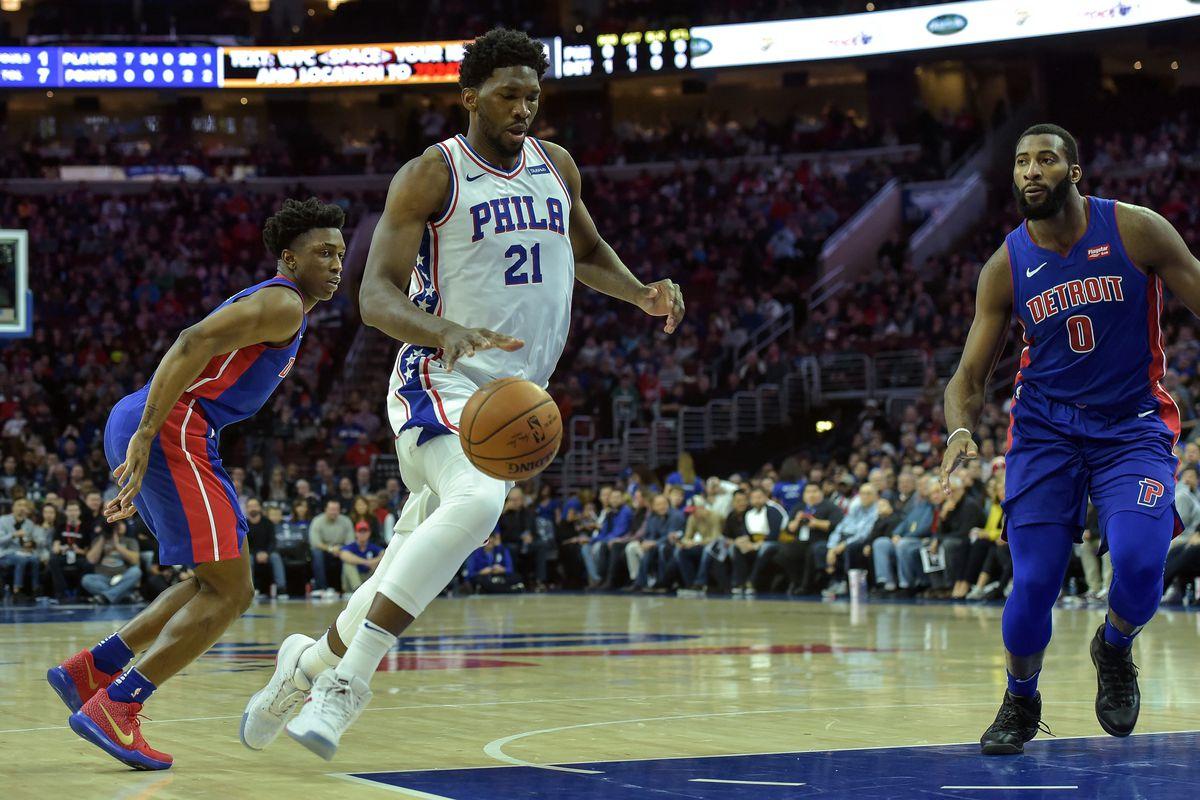 Pistons at 76ers final score: Third quarter comeback not enough
