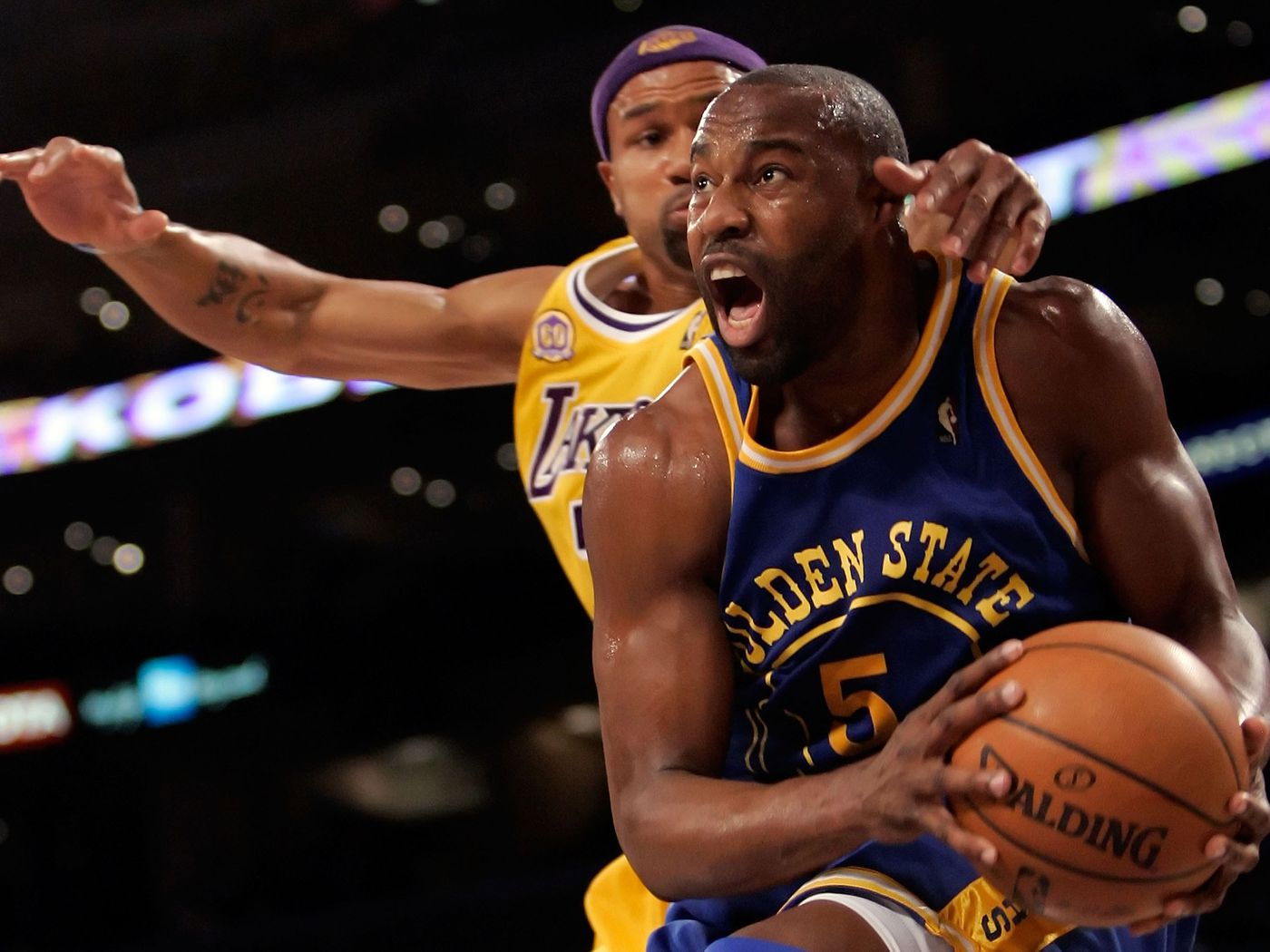 468d6fecd430 Golden Moment  Baron Davis  game-winner to beat the Lakers - Golden State  Of Mind