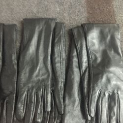 Sample leather gloves, $60