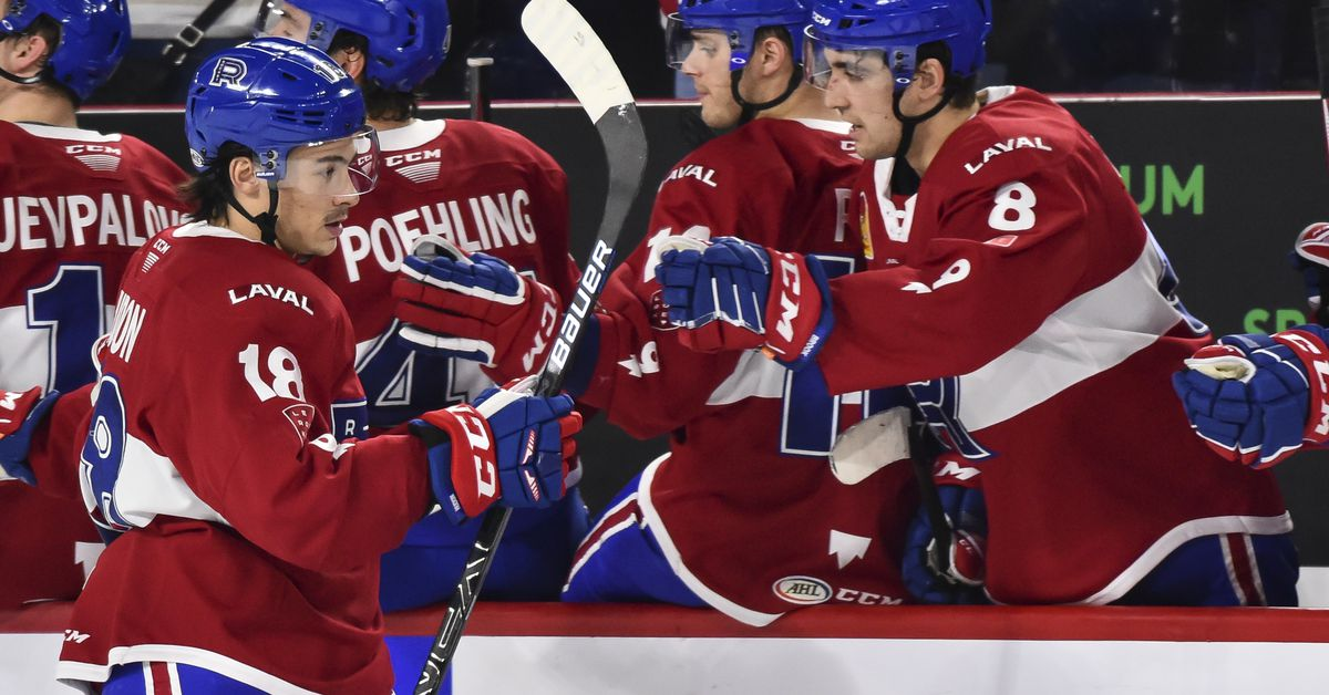 Laval Rocket forward Charles Hudon is playing for his next NHL shot - Habs Eyes on the Prize