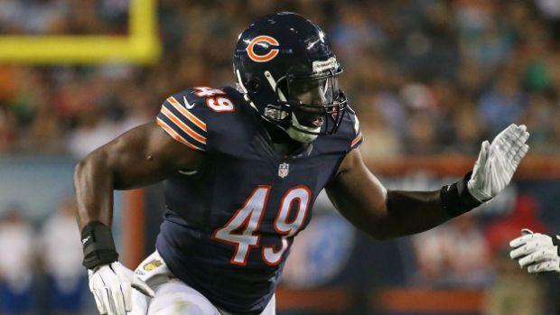Bears outside linebacker Sam Acho. | Getty Images