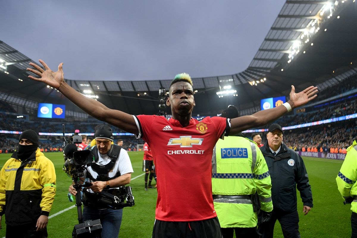 Pogba Powers United to a Thrilling Win Over City
