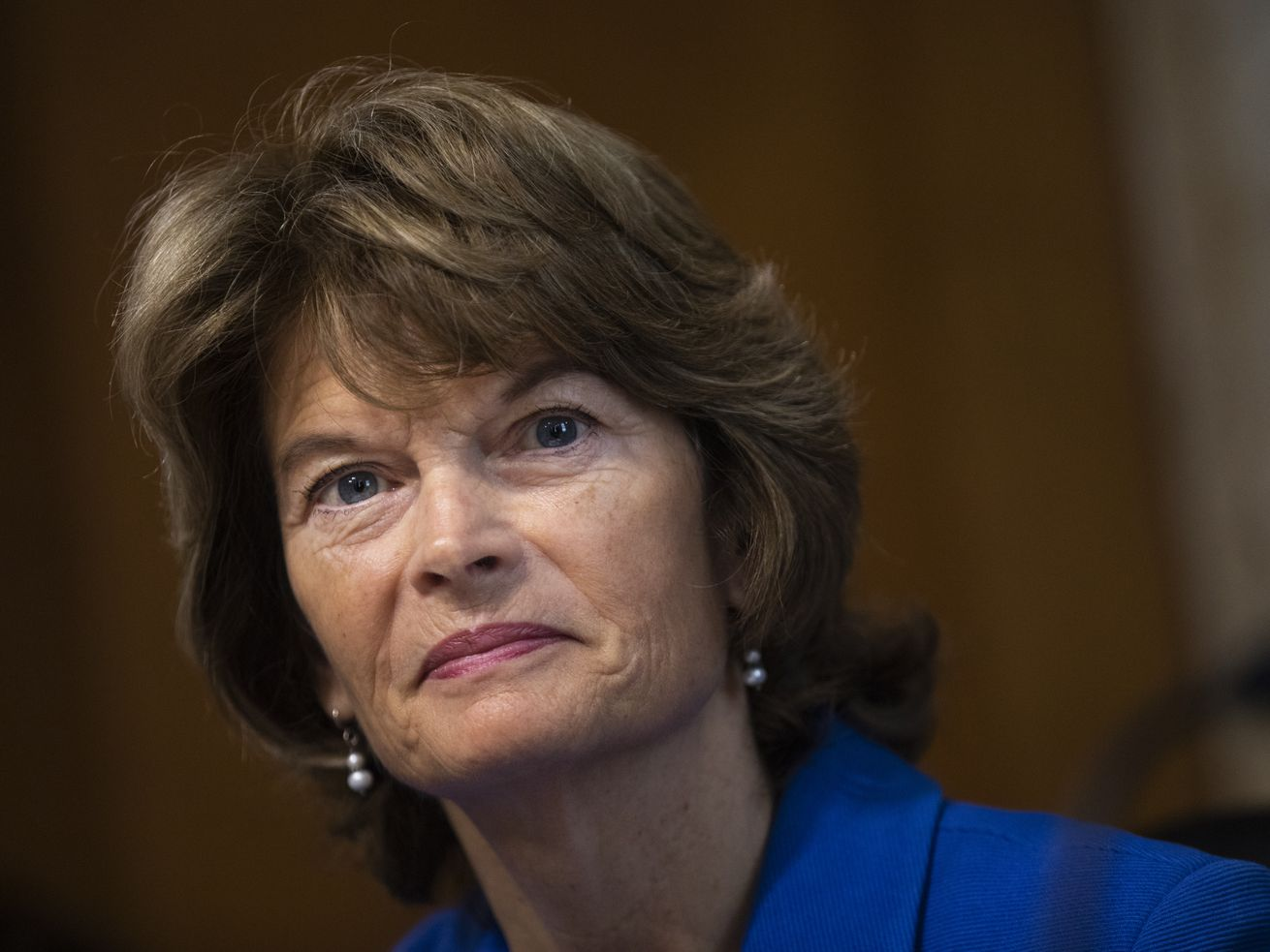 Lisa Murkowski is the only Republican to vote against advancing Kavanaugh's nomination.