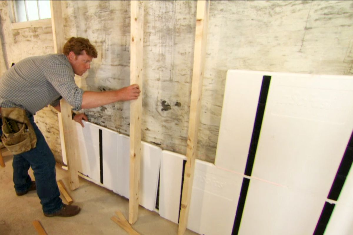 The Best Way To Insulate An Existing Concrete Block Wall