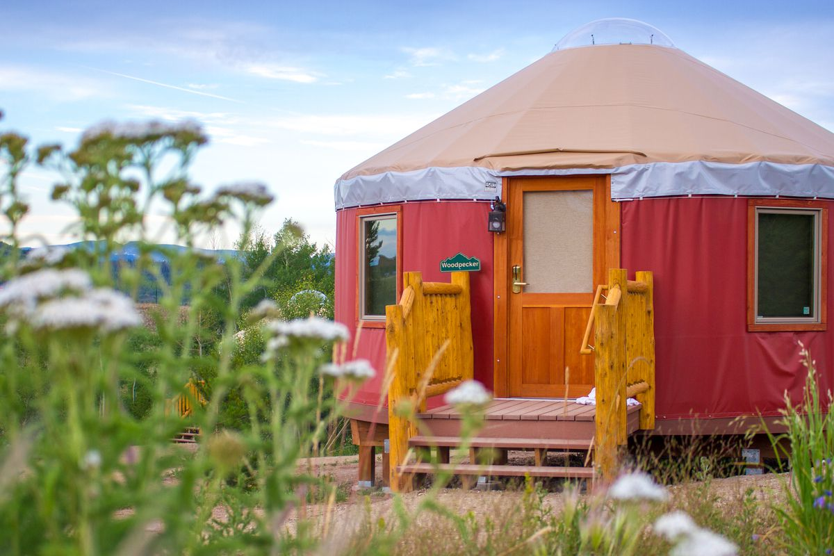 Glamping Best Yurts To Rent Right Now Curbed The riverbluff yurts are the newest addition of yurtopia yurt offerings! glamping best yurts to rent right now