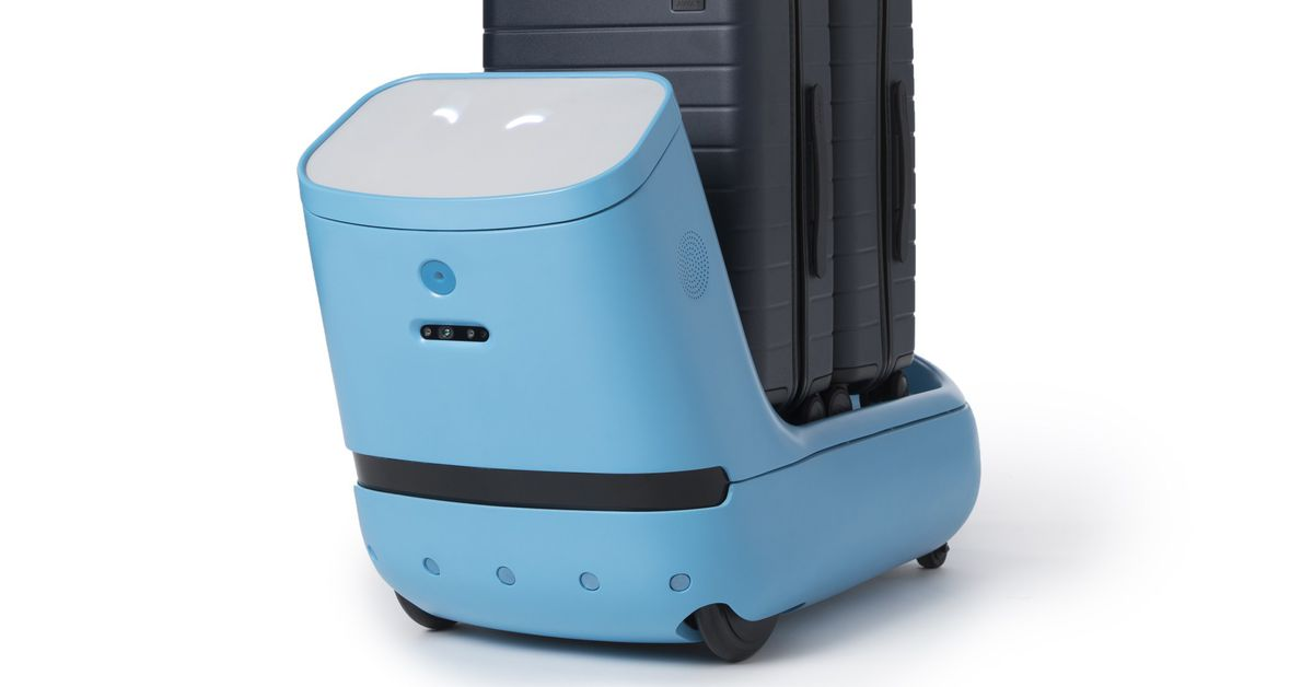 This Adorable Robot Wants to Make Air Travel Less Stressful