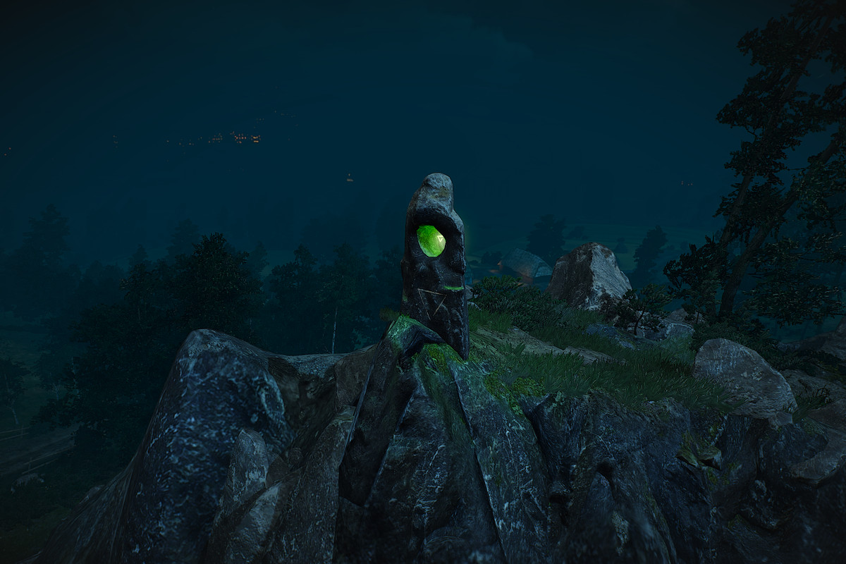 The Witcher 3 Novigrad Places of Power locations map