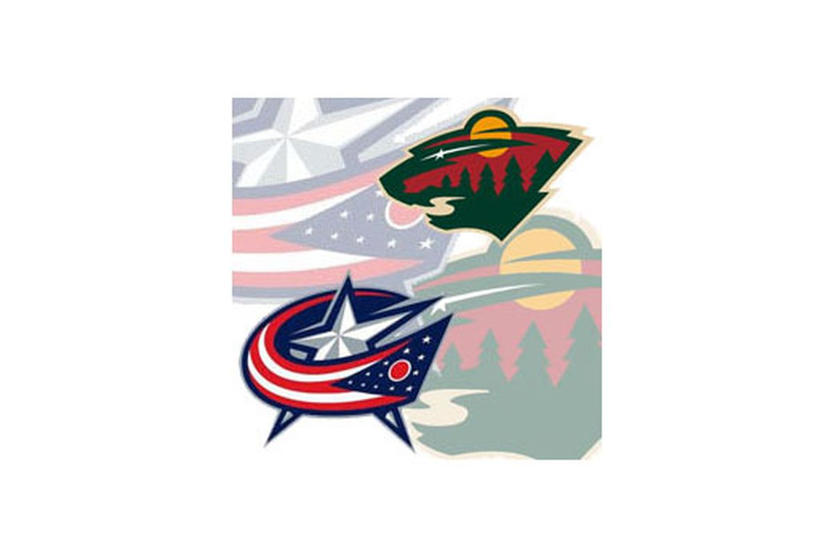 The Blue Jackets take on the Wild tonight at 8:00 PM in Minnesota