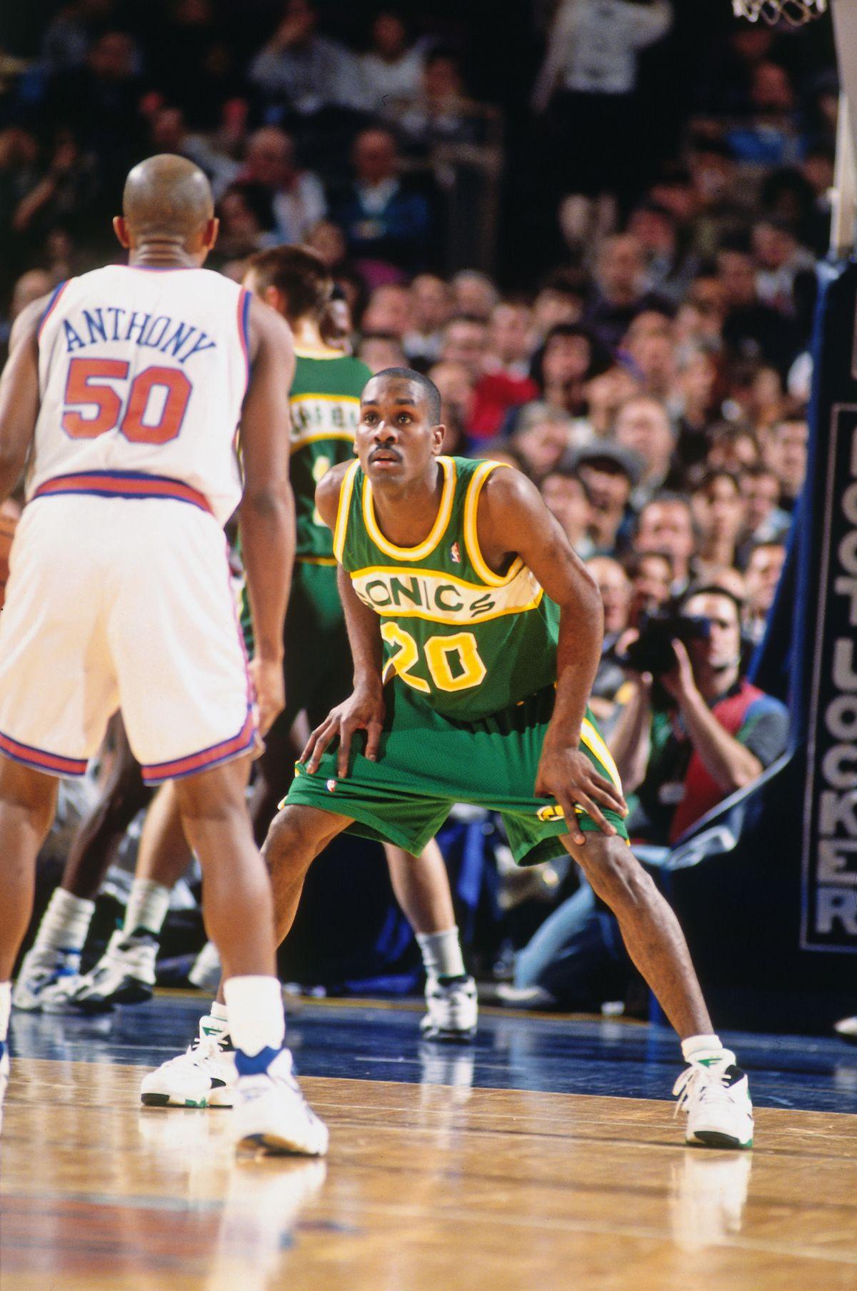Seattle SuperSonics v New York Knicks