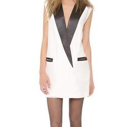 """Tuxedo dress, $400 (via <a href="""" http://www.shopbop.com/pegged-tuxedo-dress-31-phillip/vp/v=1/1558580770.htm""""> Shopbop </a>)"""