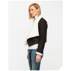 """<span class=""""credit""""><a href=""""http://needsupply.com/womens/outerwear/shearling-jacket-in-black.html#"""">Shearling Jacket in Black</a>, $89</span> <br></br> <b><a href=""""http://needsupply.com/"""">Need Supply Co.</a>:</b> Like the rest of Need's inventory, the"""