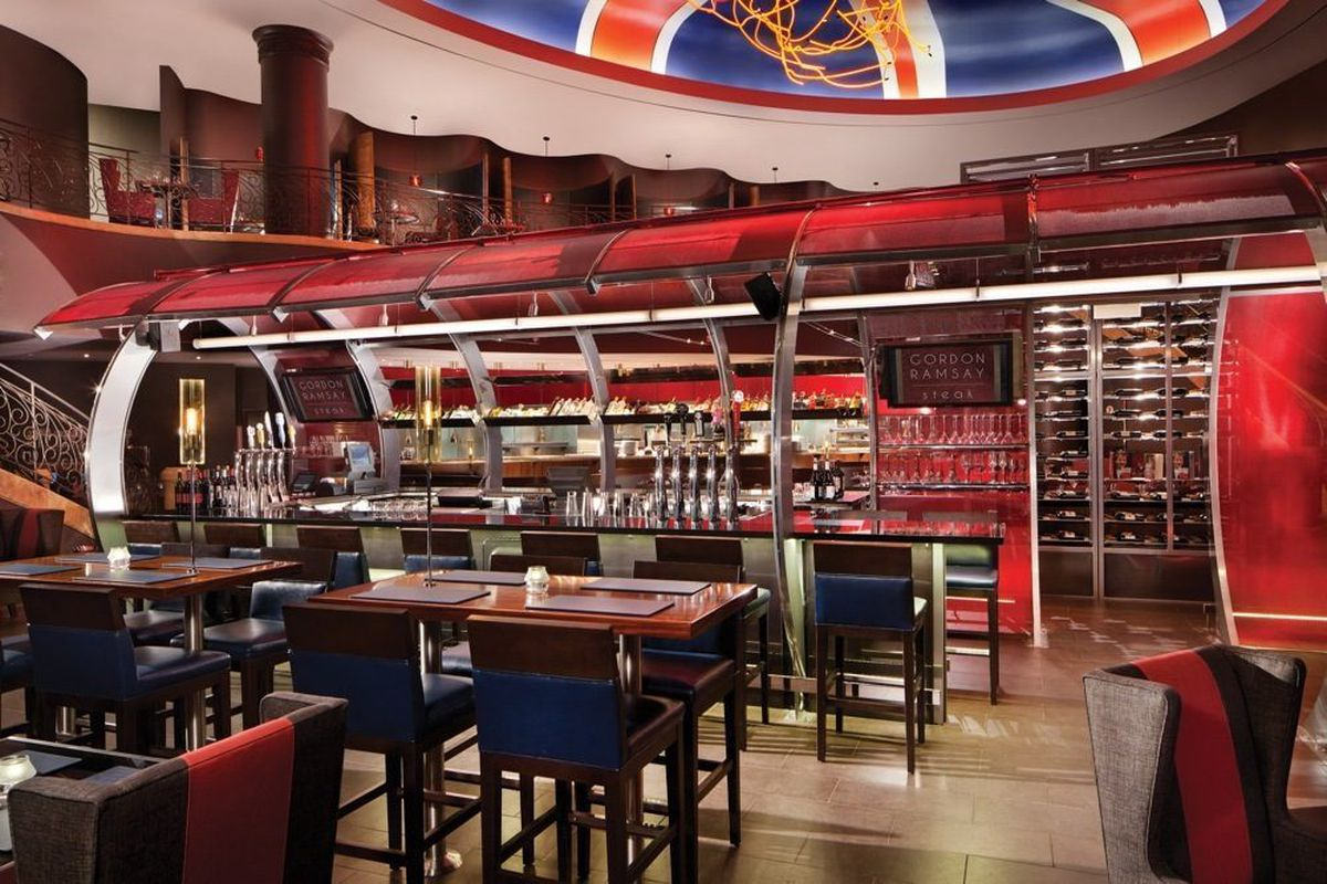 The Bar At Gordon Ramsay Steak