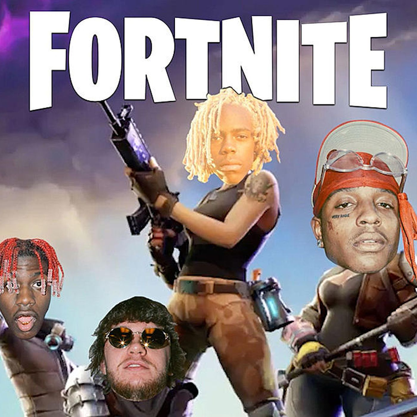 Murda Beatz's song Fortnite with Lil Yachty and Ski Mask The Slump